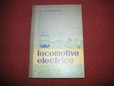 N.  Condacse - Locomotive Electrice foto