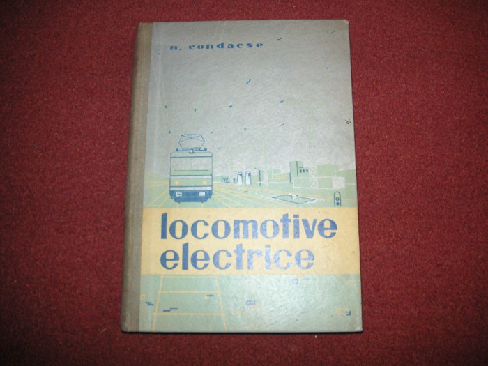 N.  Condacse - Locomotive Electrice