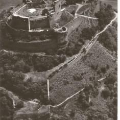 (A) carte postala(ilustrata)-DEVA-Cetatea - Carte Postala Banat dupa 1918, Circulata, Fotografie