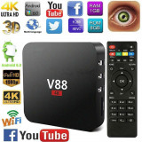 TV BOX Schiscion V88  NOU.  4K-3D,Quad -Core, 1gb,8gb, Wi-fi,Android 6