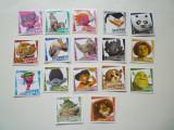 Lot abtibild sticker stickere cartonase Descopera Lumea Rubbiz Rubbiz-urilor !