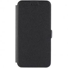 Husa Flip Cover Star TOPBOOK_P8LITE(2017)BK Agenda Pocket Negru pentru HUAWEI P9 Lite - Husa Telefon