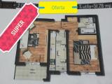 Oferta Apartament 2 camere, 52mp, decom, Militari Rezervelor Auchan, Etajul 7