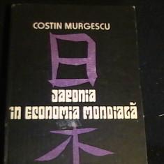 JAPONIA IN ECONOMIA MONDIALA-COSTIN MURGESCU-CARNET DE CALATORIE-262 PG-, Alta editura