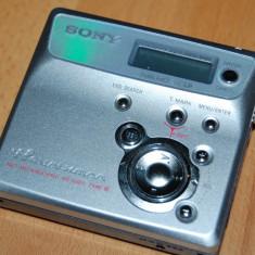 MINIDISC SONY MZ-N505 NET MD WALKMAN - PENTRU PIESE - NU PORNESTE DELOC - CD player