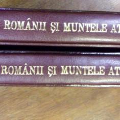 ROMANII SI MUNTELE ATHOS, VOL I - II, 2007 - Carti Crestinism