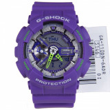 Ceas SPORT Casio G -Shock ga110 DN Purple MATTE, NOU-ORIGINAL 100%