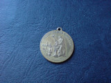 Medalion, marturie de botez. Botezat de Mihail Manoilescu.