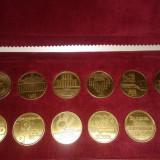 Rar set monede/ medalii Porsche, editie limitata, colectie unica