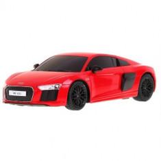 Masinuta Audi R8 Performance, Scara 1:24 Rosu - Masinuta electrica copii Rastar