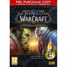 World Of Warcraft Battle For Azeroth Pc (Pre-Purchase Box) - Joc PC Blizzard