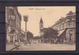 LUGOJ  STRADA  BISERICII CIRCULATA  1913, Printata
