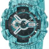 Ceas Sport CASIO G-Shock GA-110 Splash GREEN-Army Original 100 %, NOU