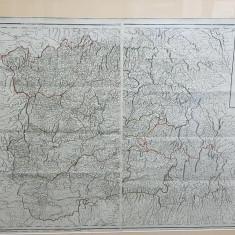 HARTA TRANSILVANIEI A.VON WENZELY, 1789 - Harta Romaniei