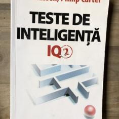 Ken Russell / Philip Carter - Teste de inteligenta - IQ2 - Carte Psihologie