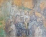 Catul Bogdan - Calareti, Scene gen, Acuarela, Altul