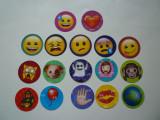 Lot set abtibild abtibilduri sticker stickere cartonas cartonase Emoji !