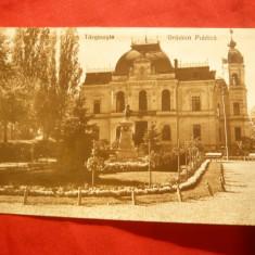 Ilustrata Targoviste - Gradina Publica, interbelica ed. Socec
