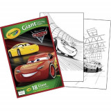 Carte De Colorat Gigant Cars - Carte educativa