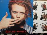 Simply red men and women 1987 disc vinyl lp album muzica synth pop rock ed. vest, VINIL, Wea