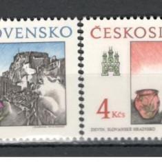 Cehoslovacia.1989 Motive istorice din Bratislava KC.191.1 - Timbre straine, Nestampilat