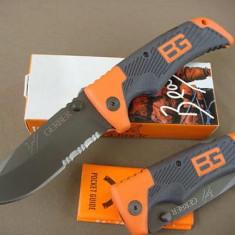 Cutit / Briceag Bear Grylls Gerber Scout – model deosebit - Cutit vanatoare, Cutit tactic
