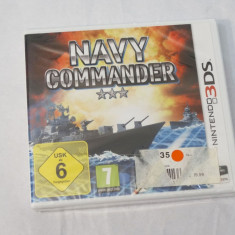 Joc Nintendo 3DS - Navy Commander - sigilat, Actiune, Toate varstele, Single player