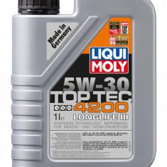 Ulei motor Liqui Moly Top Tec 4200 5w-30- vw 504 00/507 00 (3706)- 1 l