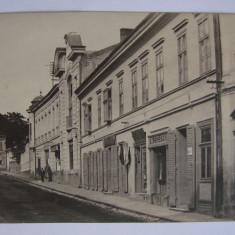 Fotografie ORAVITA realizata in atelierul fotografic Benesch Erno anii 1910 (3) - Carte Postala Banat 1904-1918, Necirculata