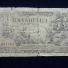 100 LEI 27 AUGUST 1947