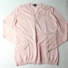 Pulover Cecilia Classics roz deschis, merinos 100% foarte fin - PRET SPECIAL - Pulover dama, Marime: M/L, Culoare: Rose, Lana