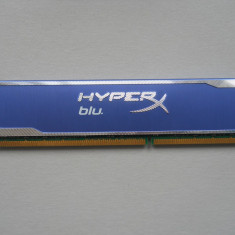 Memorie Ram Kingston HyperX Blu 8 GB (1 X 8 GB) 1600Mhz., DDR 3, 1600 mhz