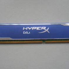 Memorie Ram Kingston HyperX Blu 8 GB (1 X 8 GB) 1600Mhz., DDR 3