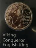 ANGLIA ( UK ) - 5 Lire 2017 - Viking Conqueror - Brilliant Uncirculated, Europa