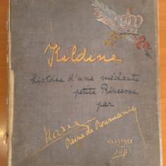 """MAXIMA RARITATE - Regina Maria, """"Kildine,  (ediție rară, în doar 30 exemplare)"""