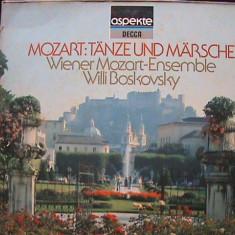MOZART - menuete contradansuri marșuri DECCA Germany Disc pick-up vinil zgâriat - Muzica Clasica decca classics