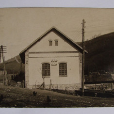 Fotografie ORAVITA realizata in atelierul fotografic Benesch Erno anii 1910 (1) - Carte Postala Banat 1904-1918, Necirculata