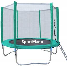 Trambulina si plasa de siguranta Sportmann 366 cm - Trambulina copii