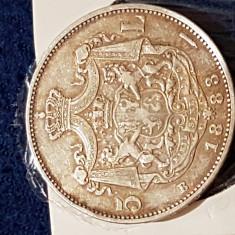 5 lei 1883 suberba - Moneda Romania