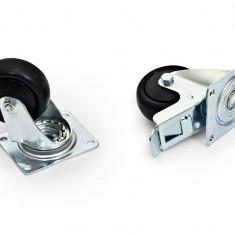 Triton Set 4Roti (2 Cu Frana) Max.800Kg - Cabinet metalic