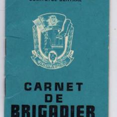 CARNET DE BRIGADIER SANTIERUL NATIONAL  CANALUL DUNARE MAREA NEAGRA UTC
