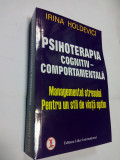 PSIHOTERAPIA COGNITIV-COMPORTAMENTALA  -  IRINA HOLDEVICI