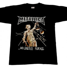 Tricou ROCK Metallica - justice for all - Tricou barbati, Marime: M