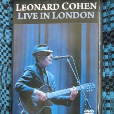 LEONARD COHEN - LIVE IN LONDON (1 DVD ORIGINAL - STARE FOARTE BUNA!)