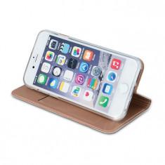 Husa Smart Premium Case pentru iPhone 5/5S/5SE, inchidere magnetica, rose gold - Husa Telefon