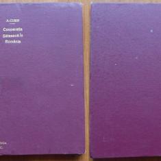 Cusin, Cooperatia sateasca din Romania ; introduc. de A. C. Cuza, 1912, ed. 1 - Carte Editie princeps