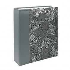 Album foto New Style piele eco, 10x15, 200 poze, broderie florala