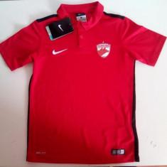 Echipament (tricou, sort si jambiere) fotbal original Nike FC. Dinamo Bucuresti - Echipament fotbal Nike, Marime: L, Tricou fotbal