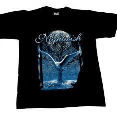Tricou ROCK Nightwish - bufnita alba