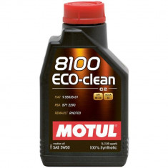 Ulei motor Motul 8100 Eco-Clean, 5W30, 1L